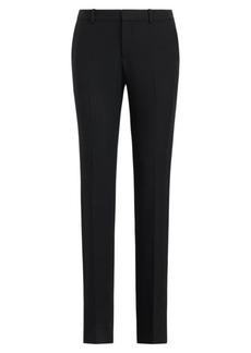 Ralph Lauren Sydney Wool-Silk Tuxedo Pant