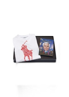 Ralph Lauren T-Shirt & Who Is RL Book Set