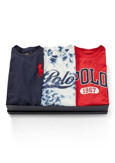 Ralph Lauren T-Shirt 3-Piece Gift Set