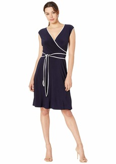 Ralph Lauren Taevon Two-Tone Dress