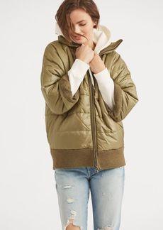 Ralph Lauren Taffeta Reversible Jacket