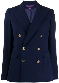 Ralph Lauren tailored double-breasted blazer