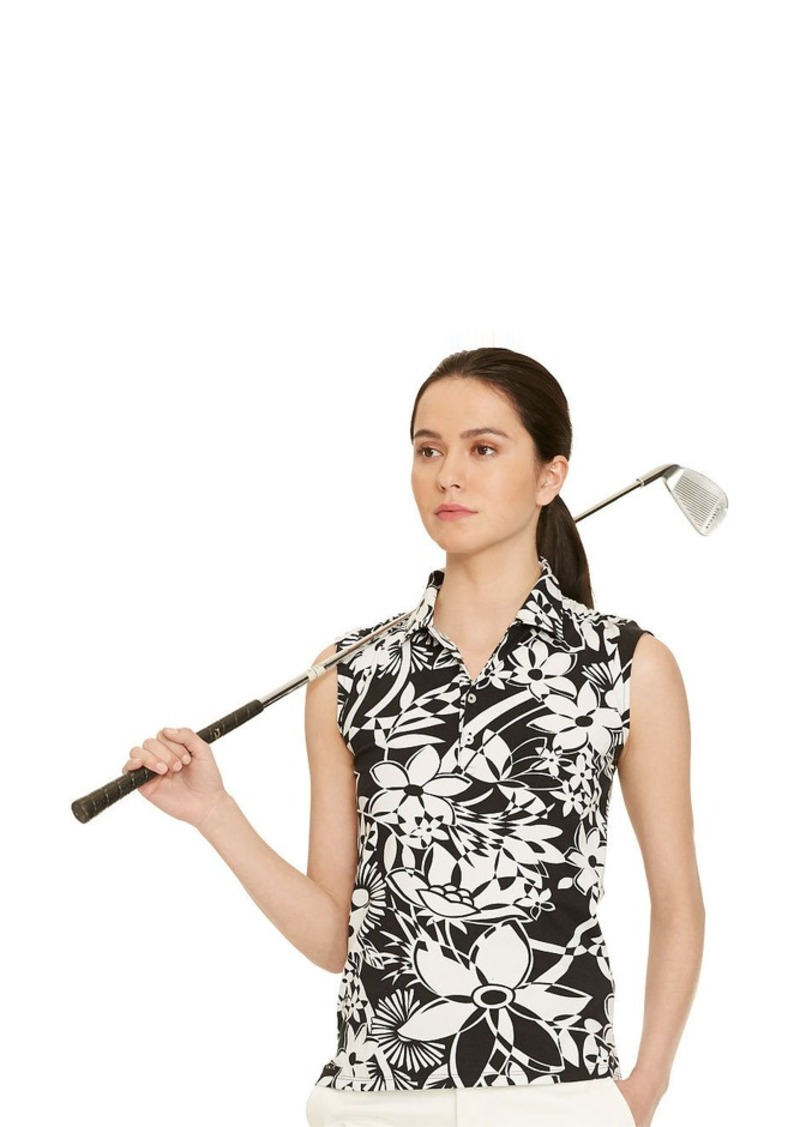 Ralph Lauren Tailored Golf-Fit Floral Polo