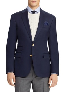 Ralph Lauren Gregory Notch-Lapel Blazer