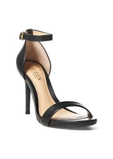 Ralph Lauren Tarah Leather Sandal