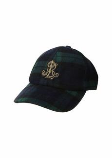 Ralph Lauren Tartan Baseball w/ Crest Patch