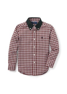 Ralph Lauren Tartan Cotton Poplin Shirt