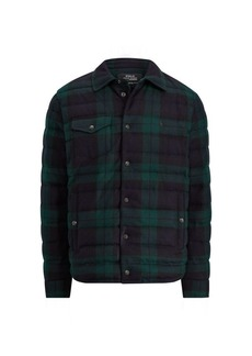 Ralph Lauren Tartan Flannel Down Jacket