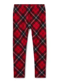 Ralph Lauren Tartan Jersey Legging