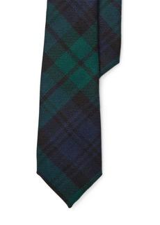 Ralph Lauren Tartan Plaid Wool Tie
