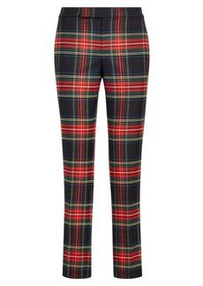 Ralph Lauren Tartan Stripe Skinny Pant