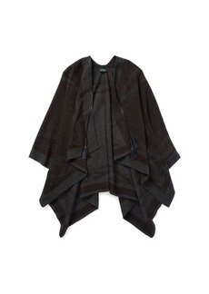 Ralph Lauren Tasseled Bridle Cape