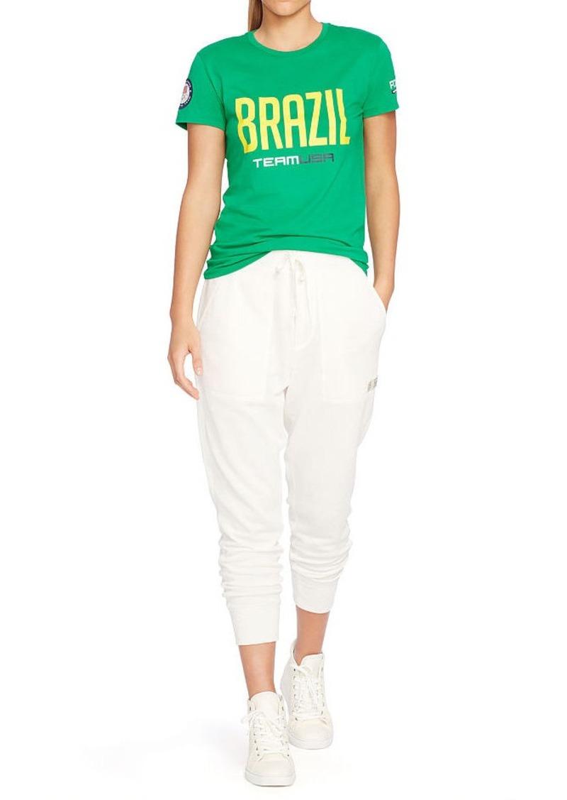 Ralph Lauren Team USA Brazil Jersey Tee