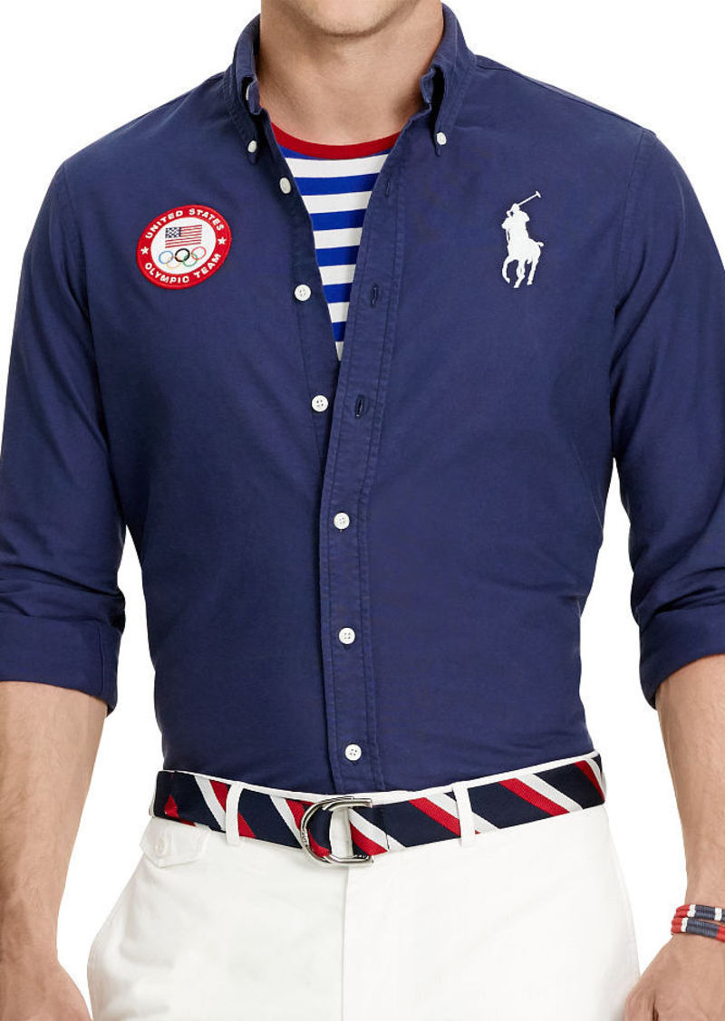 Ralph Lauren Team USA Ceremony Oxford Shirt