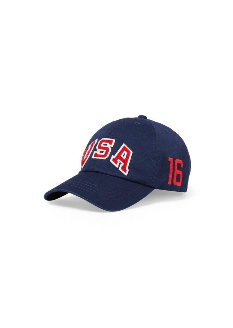 Ralph Lauren Team USA Chino Sports Cap
