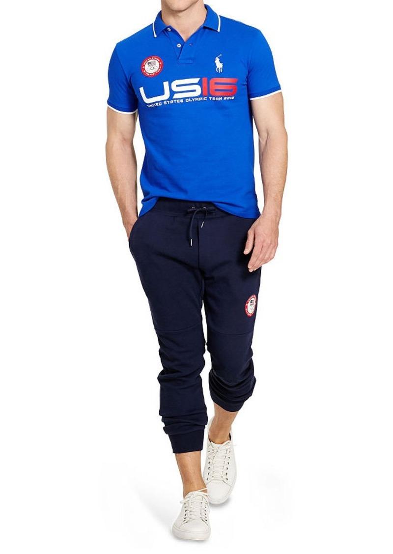 Ralph Lauren Team USA Custom-Fit Polo
