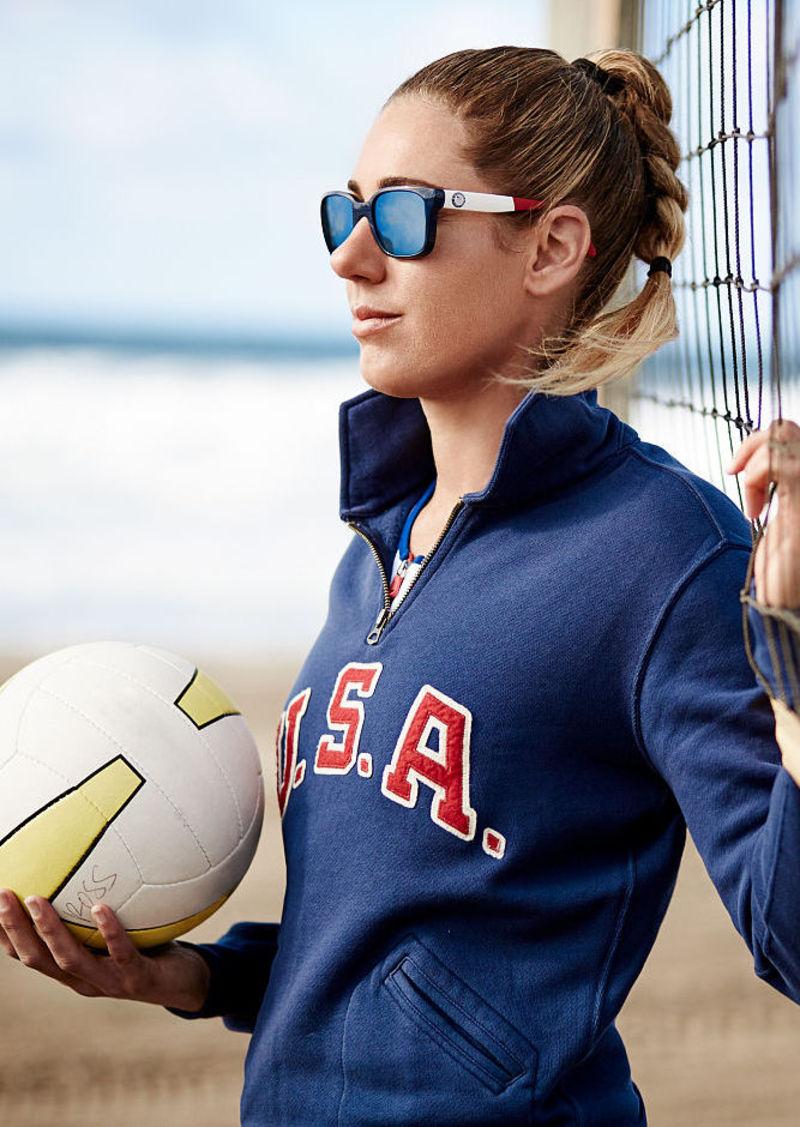 Ralph Lauren Team USA Half-Zip Sweatshirt
