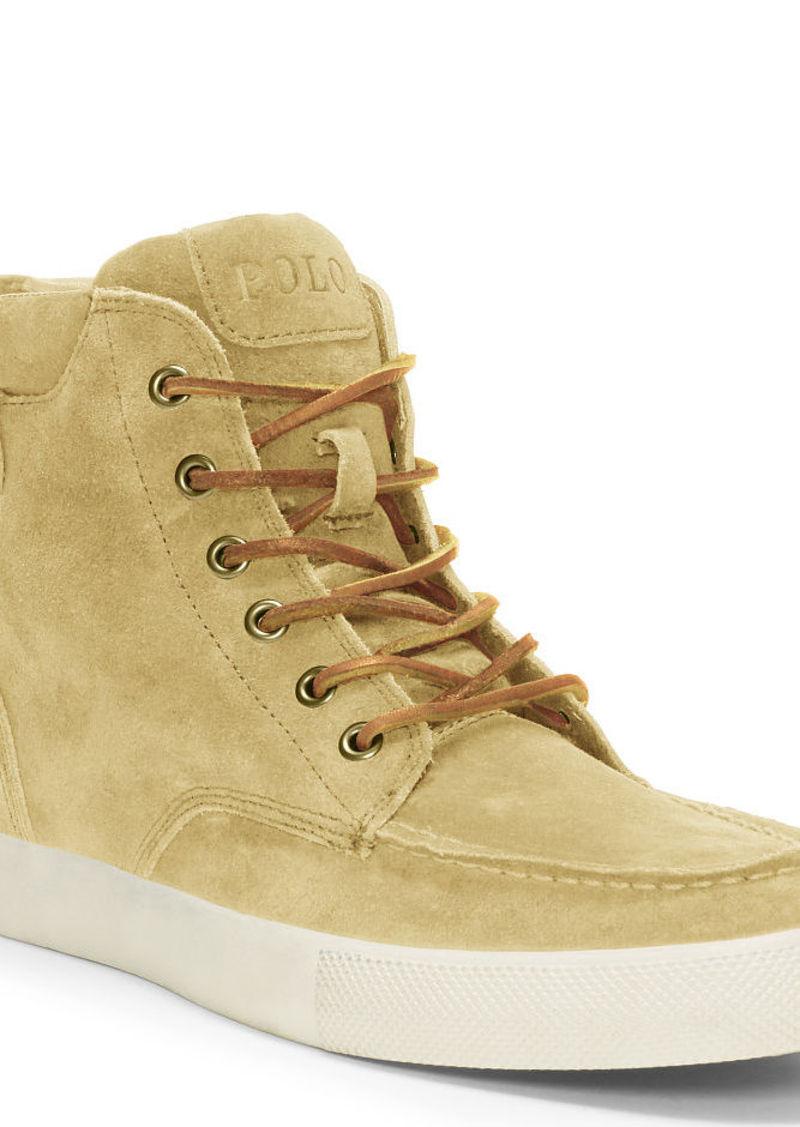 Ralph Lauren Tedd Suede Sneaker