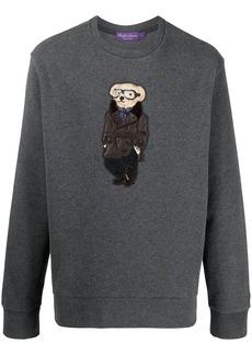 Ralph Lauren teddy bear-print jumper