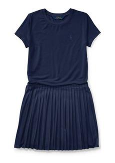 Ralph Lauren Tee-and-Skirt Dress