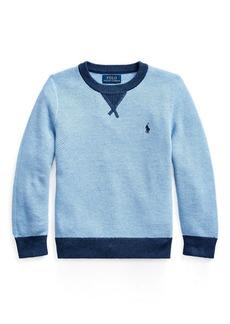 Ralph Lauren Textured Cotton Sweater