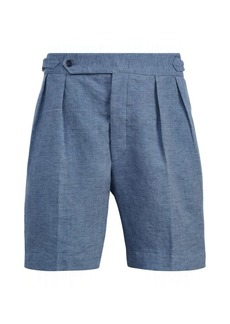 Ralph Lauren Textured Linen-Silk Short