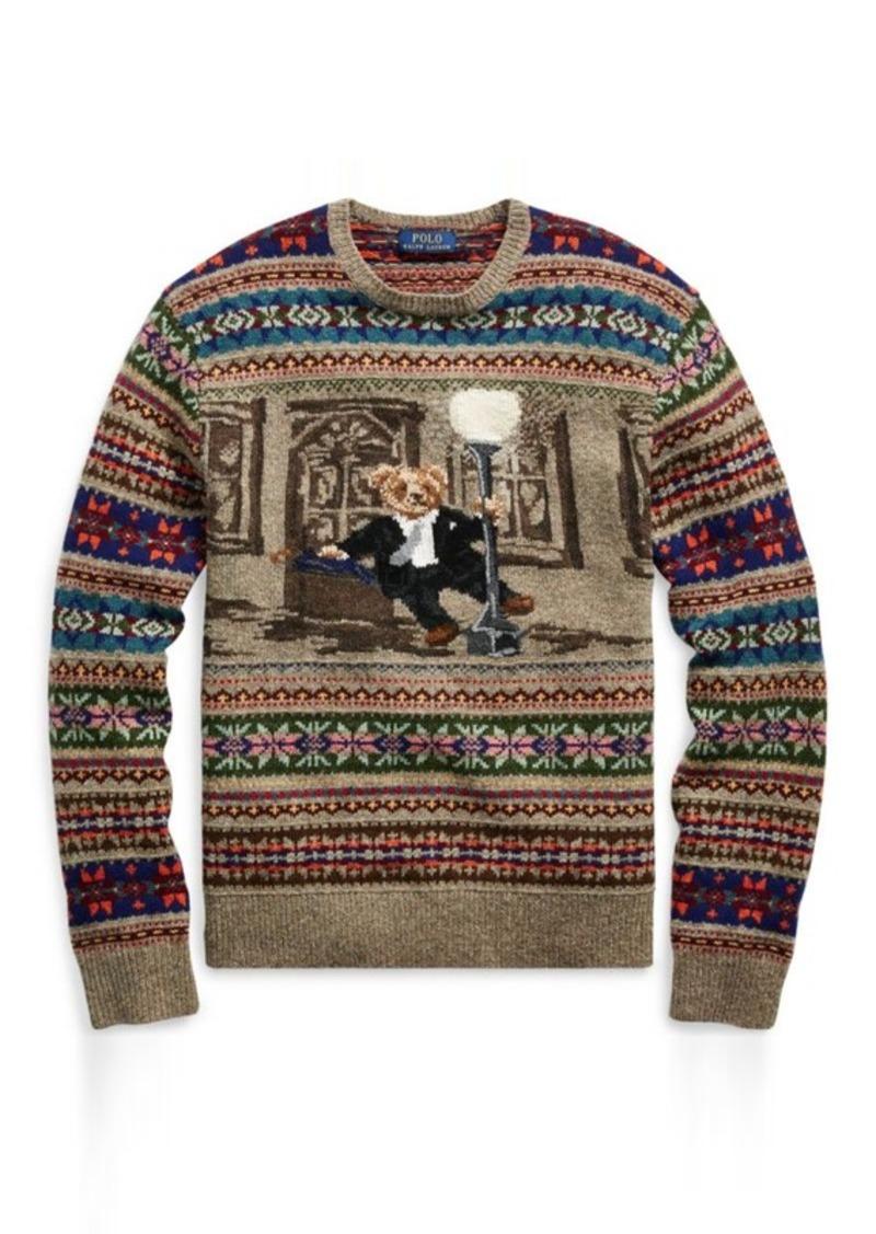Ralph Lauren The Iconic Bear Isle Sweater