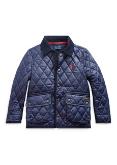 Ralph Lauren The Iconic Quilted Car Coat