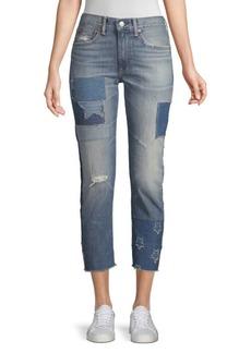 Ralph Lauren The Waverly Straight Crop Jeans