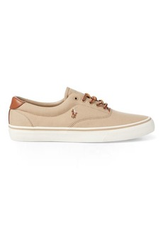 Ralph Lauren Thorton Canvas Low-Top Sneaker