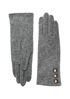 Ralph Lauren Three-Button Touch Gloves