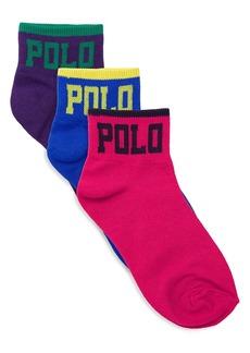 Ralph Lauren Three-Pack Polo Socks
