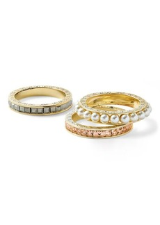 Ralph Lauren Three-Piece Ring Set