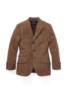 Ralph Lauren Tick-Weave Wool Sport Coat
