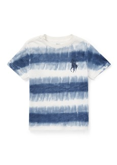 Ralph Lauren Tie-Dye Short-Sleeve Knit Top