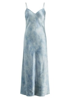 Ralph Lauren Tie-Dye Silk Maxidress