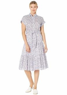 Ralph Lauren Tiered-Hem Dress