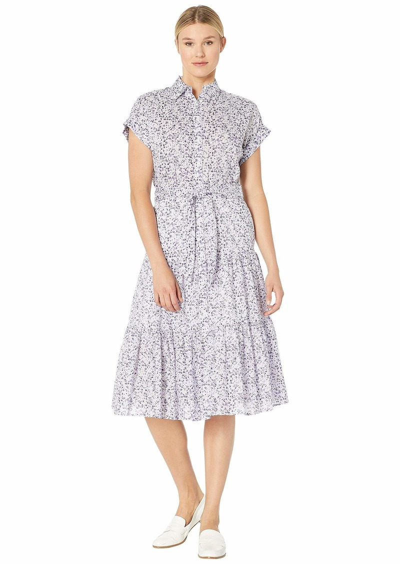 Ralph Lauren Tiered-Hem Dress