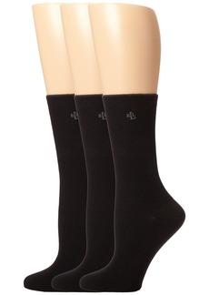 Ralph Lauren Tipped Rib Trouser 3 Pack