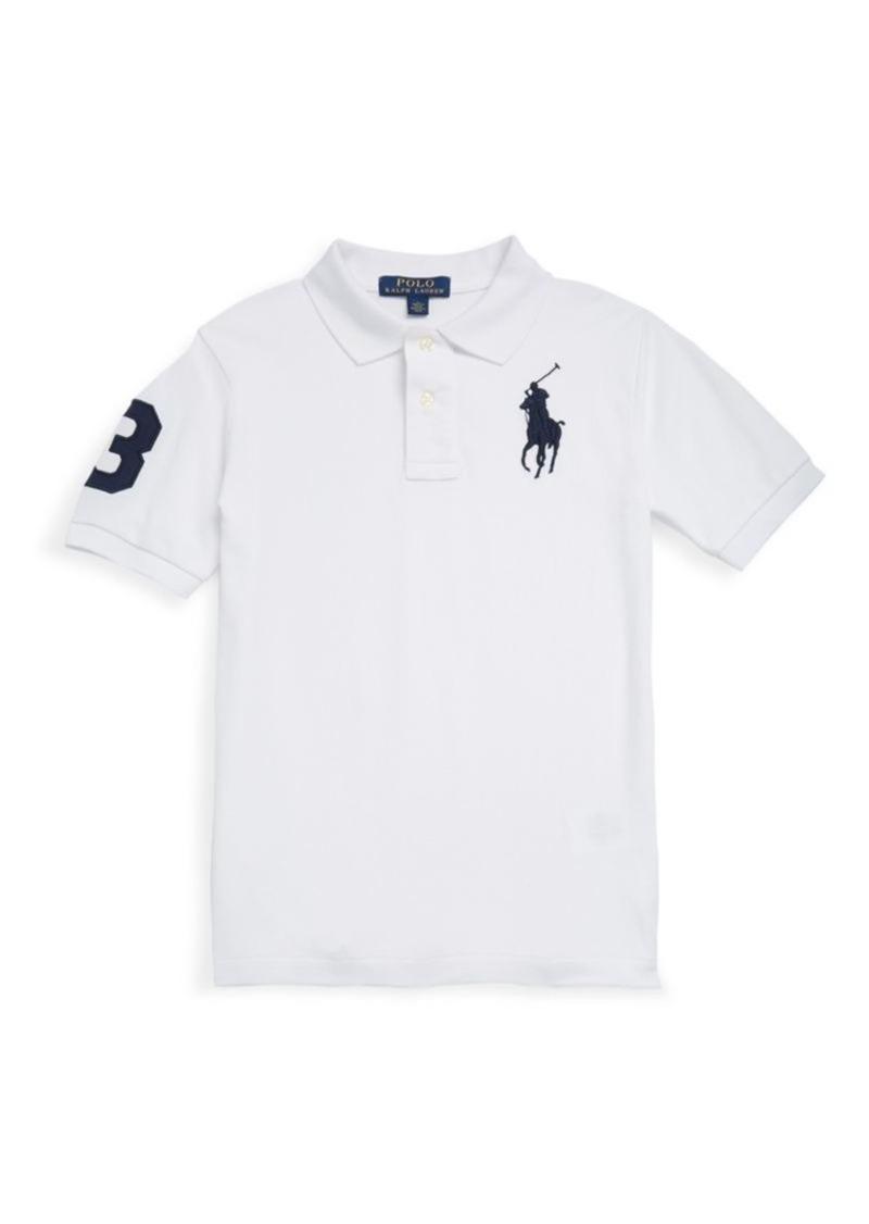 Ralph Lauren Little Boy's & Boys Tennis Tail Cotton Polo