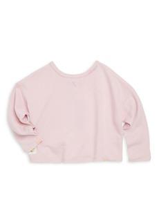 Ralph Lauren Toddler's, Little Girl's & Girl's French Terry Sweatshirt