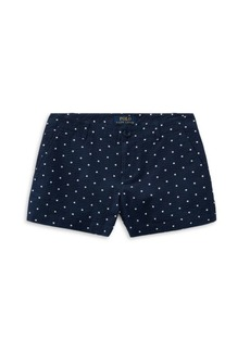 Ralph Lauren Little Girl's & Girl's Star Seersucker Shorts