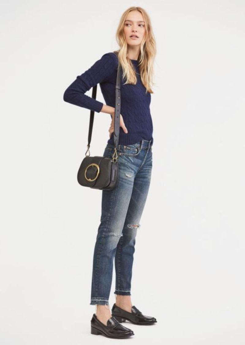 bcd610cd8b Tompkins Skinny Crop Jean