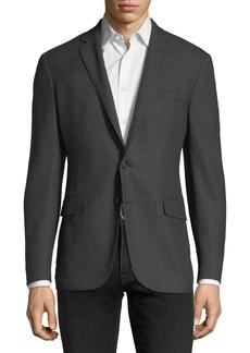 Ralph Lauren Tonal Plaid Wool Sport Coat