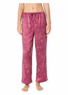 Ralph Lauren Tonal Satin Notch Collar Pajama Set