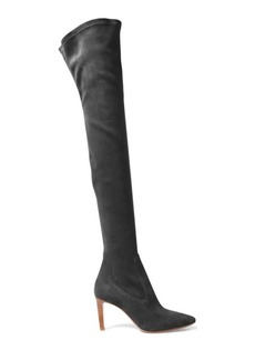 Toni Stretch Suede Boot