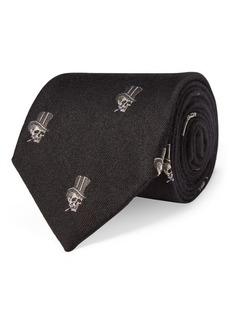Ralph Lauren Top Hat & Skull Tie