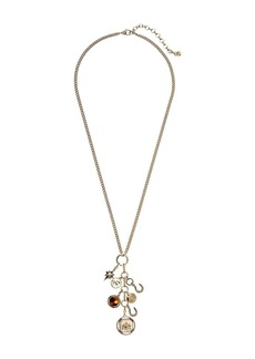 "Ralph Lauren Tortoise 27"" Shaky Charm Necklace"