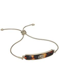 Ralph Lauren Tortoise Logo Slider Bracelet