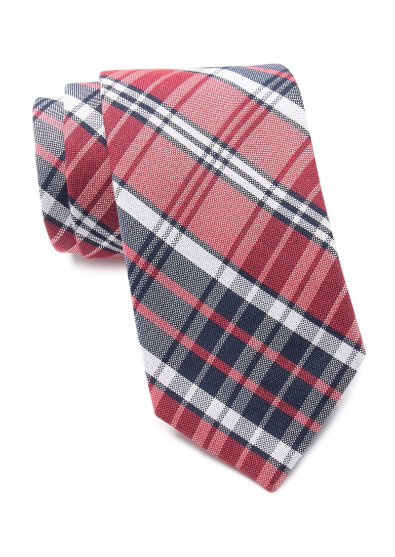 Ralph Lauren Track Plaid Tie